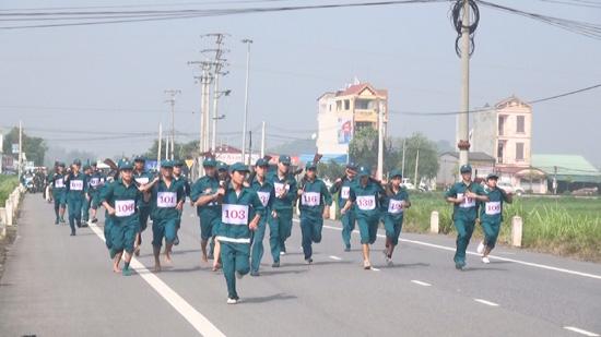 Khai mạc hội thao quốc phòng lực lượng dân quân tự vệ Thạch Thất năm 2016